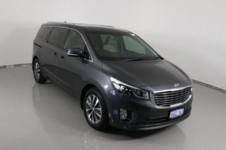 2017 Kia Carnival YP MY17 SLi Grey 6 Speed Automatic Wagon