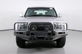 2003 Toyota Landcruiser HDJ100R GXL (4x4) Silver 5 Speed Manual Wagon.