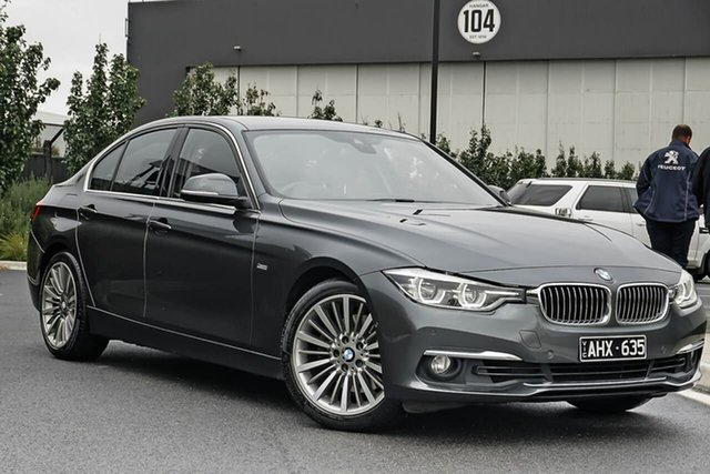 Used BMW 3 Series F30 LCI 330i Luxury Line Essendon Fields, 2016 BMW 3 Series F30 LCI 330i Luxury Line Grey 8 Speed Sports Automatic Sedan