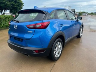 2015 Mazda CX-3 DK2W7A Maxx SKYACTIV-Drive Blue 6 Speed Sports Automatic Wagon
