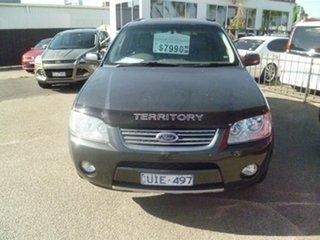 2006 Ford Territory SY Ghia AWD Grey 6 Speed Sports Automatic Wagon.