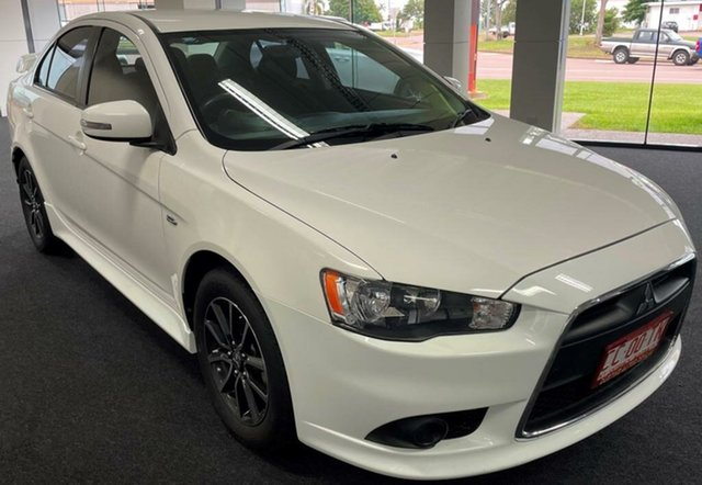Used Mitsubishi Lancer CF MY16 ES Sport Winnellie, 2015 Mitsubishi Lancer CF MY16 ES Sport White 6 Speed Constant Variable Sedan