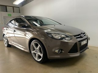 2012 Ford Focus LW Titanium Grey 6 Speed Automatic Sedan.