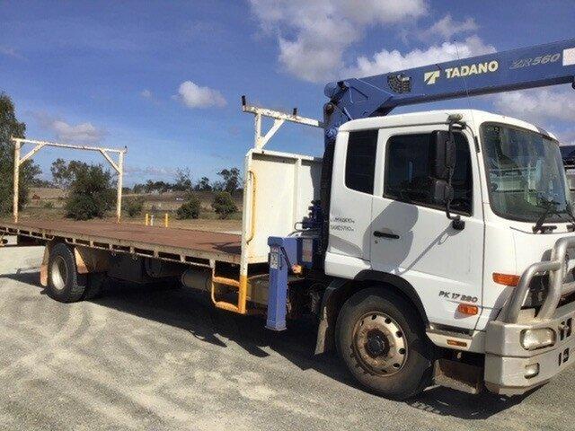 Used UD Truck Harristown, 2014 UD PK17 280 PK17 280 Truck White Crane Truck