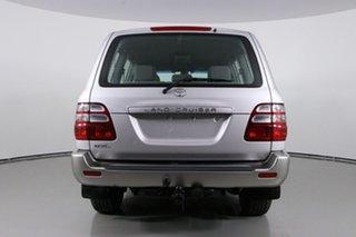 2003 Toyota Landcruiser HDJ100R GXL (4x4) Silver 5 Speed Manual Wagon