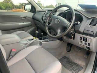 2008 Toyota Hilux KUN26R 07 Upgrade SR5 (4x4) Grey 4 Speed Automatic Dual Cab Pick-up