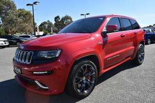 2016 Jeep Grand Cherokee WK MY15 SRT Red 8 Speed Sports Automatic Wagon.