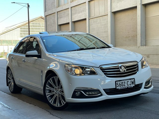 Used Holden Calais VF MY15 V Cheltenham, 2014 Holden Calais VF MY15 V White 6 Speed Sports Automatic Sedan