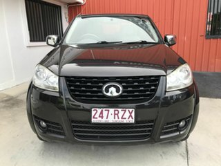 2011 Great Wall V200 K2 MY11 4x2 Black 6 Speed Manual Utility.