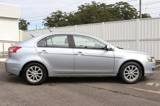 2010 Mitsubishi Lancer CJ MY10 ES Sportback Silver 5 Speed Manual Hatchback.