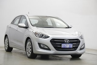 2015 Hyundai i30 GD4 Series II MY16 Active Silver 6 Speed Sports Automatic Hatchback