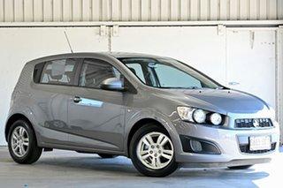 2012 Holden Barina TM MY13 CD Grey 5 Speed Manual Hatchback.