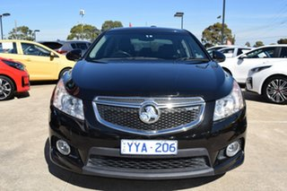 2012 Holden Cruze JH Series II MY13 SRi-V Black 6 Speed Sports Automatic Sedan.