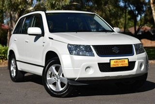 2008 Suzuki Grand Vitara JB MY09 White 4 Speed Automatic Wagon.