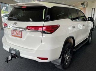 2017 Toyota Fortuner GUN156R GXL White 6 Speed Automatic Wagon.
