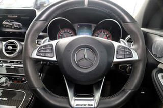 2016 Mercedes-Benz C-Class W205 806+056MY C63 AMG SPEEDSHIFT MCT S Palladium Silver 7 Speed