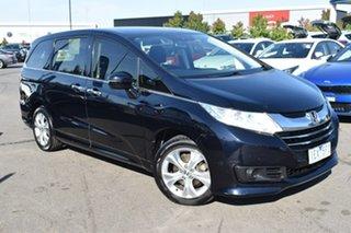 2014 Honda Odyssey RC MY14 VTi Black 7 Speed Constant Variable Wagon.