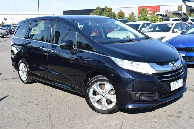 Used Honda Odyssey RC MY14 VTi Essendon Fields, 2014 Honda Odyssey RC MY14 VTi Black 7 Speed Constant Variable Wagon