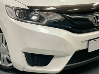 2014 Honda Jazz GF MY15 VTi White 1 Speed Constant Variable Hatchback.