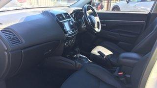 2014 Mitsubishi ASX XB MY15 XLS 2WD White 6 Speed Constant Variable Wagon
