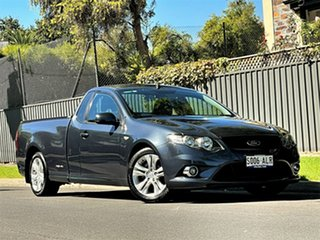 2011 Ford Falcon FG Ute Super Cab Grey 6 Speed Sports Automatic Utility.