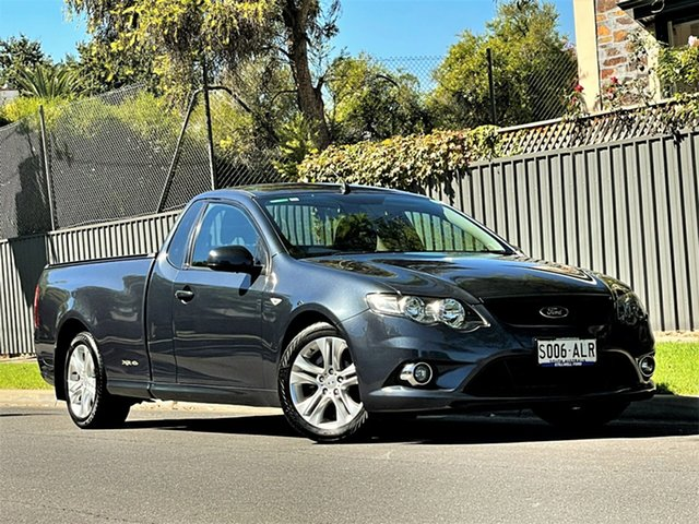 Used Ford Falcon FG Ute Super Cab Hyde Park, 2011 Ford Falcon FG Ute Super Cab Grey 6 Speed Sports Automatic Utility