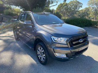 2016 Ford Ranger PX MkII Wildtrak Double Cab Grey 6 Speed Sports Automatic Utility.