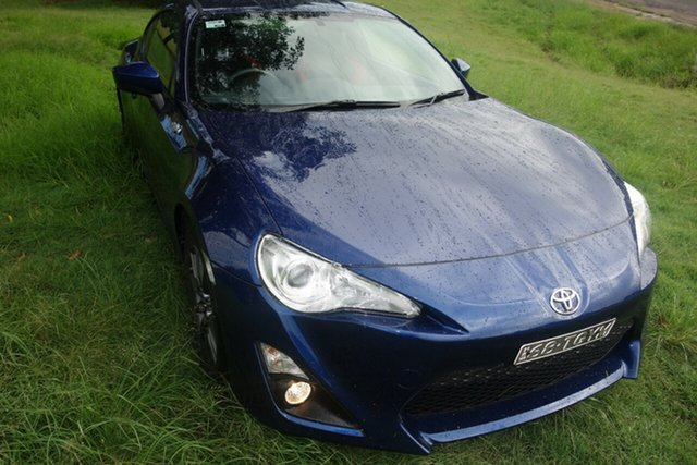 Used Toyota 86 ZN6 GT East Maitland, 2013 Toyota 86 ZN6 GT Blue 6 Speed Manual Coupe