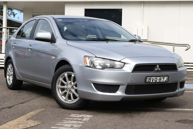 Used Mitsubishi Lancer CJ MY10 ES Sportback North Gosford, 2010 Mitsubishi Lancer CJ MY10 ES Sportback Silver 5 Speed Manual Hatchback