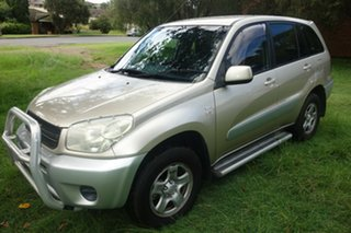 2004 Toyota RAV4 ACA23R CV Gold 5 Speed Manual Wagon.