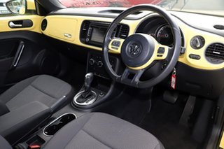 2013 Volkswagen Beetle 1L MY14 Coupe DSG Saturn Yellow 7 Speed Sports Automatic Dual Clutch Liftback