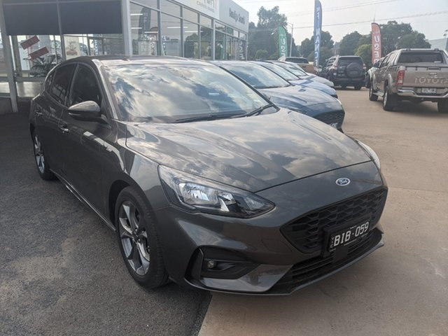 Used Ford Focus SA 2019.75MY ST-Line Epsom, 2019 Ford Focus SA 2019.75MY ST-Line Silver 8 Speed Automatic Hatchback