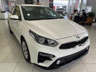 2019 Kia Cerato BD MY20 S Clear White 6 Speed Sports Automatic Sedan.