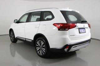 2019 Mitsubishi Outlander ZL MY19 ES 7 Seat (AWD) White Continuous Variable Wagon
