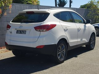 2014 Hyundai ix35 LM3 MY14 Trophy White 6 Speed Manual Wagon