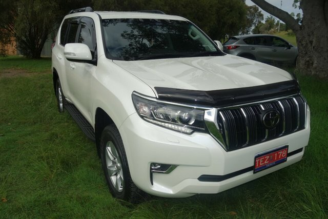 Used Toyota Landcruiser Prado GDJ150R GXL East Maitland, 2020 Toyota Landcruiser Prado GDJ150R GXL White 6 Speed Sports Automatic Wagon