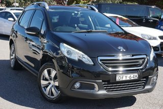 2015 Peugeot 208 A9 MY15 Active Black 4 Speed Automatic Hatchback.