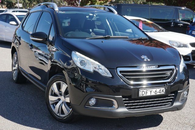 Used Peugeot 208 A9 MY15 Active Phillip, 2015 Peugeot 208 A9 MY15 Active Black 4 Speed Automatic Hatchback