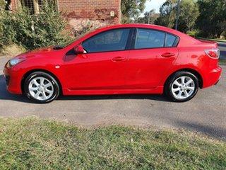 2009 Mazda 3 BK Series 2 Maxx Sport Red Manual Sedan.