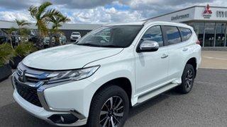 2019 Mitsubishi Pajero Sport QE MY19 GLS White Solid 8 Speed Sports Automatic Wagon.