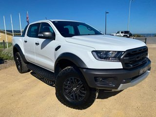2018 Ford Ranger PX MkIII 2019.00MY Raptor White 10 Speed Sports Automatic Utility.