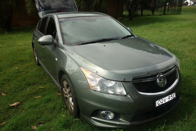 Used Holden Cruze JH Series II MY14 SRi East Maitland, 2013 Holden Cruze JH Series II MY14 SRi Grey 6 Speed Sports Automatic Hatchback