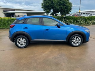 2015 Mazda CX-3 DK2W7A Maxx SKYACTIV-Drive Blue 6 Speed Sports Automatic Wagon.