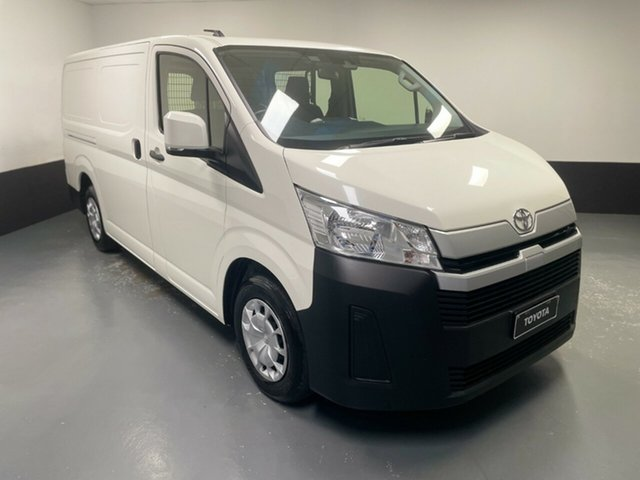 Used Toyota HiAce GDH300R LWB Cardiff, 2020 Toyota HiAce GDH300R LWB White 6 Speed Sports Automatic Van