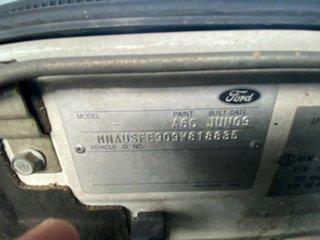 2009 Ford Ranger PJ XL Crew Cab 4x2 Hi-Rider White 5 Speed Automatic Utility