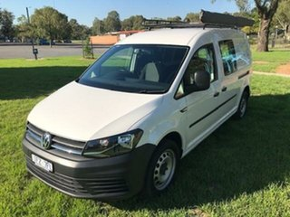 2016 Volkswagen Caddy 2K MY16 Maxi TSI220 7 Speed Auto Direct Shift Van.