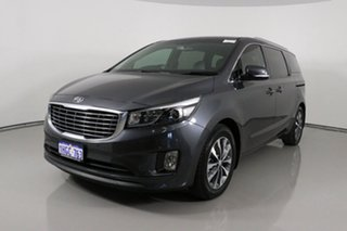 2017 Kia Carnival YP MY17 SLi Grey 6 Speed Automatic Wagon.