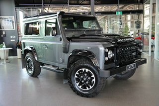 2015 Land Rover Defender 90 MY16 Adventure Grey 6 Speed Manual Wagon.