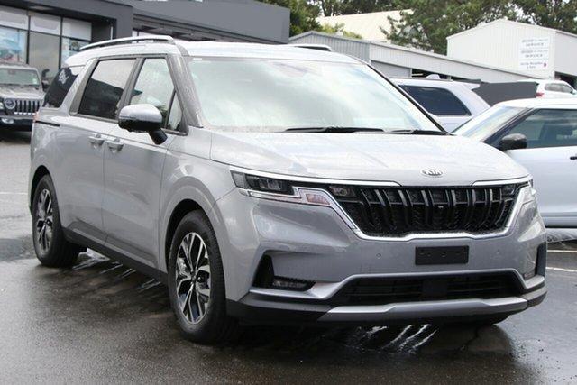 New Kia Carnival KA4 MY21 SLi Toowoomba, 2020 Kia Carnival KA4 MY21 SLi Ceramic Silver 8 Speed Sports Automatic Wagon