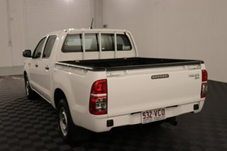 2014 Toyota Hilux GGN15R MY14 SR Double Cab 4x2 Glacier 5 speed Automatic Utility